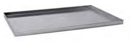 7046 Rectangular baking sheet with tapared sides -