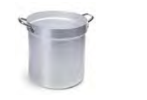 7061 Cylindrical colander with 2 handles