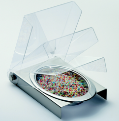 Sprinkles Tray with lid and removable cup
