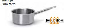 9026 Medium height saucepan with long handle