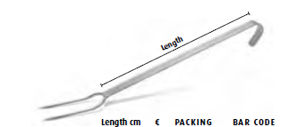 9096 2-prong meat fork