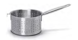 9074 Cylindrical strainer with long handle