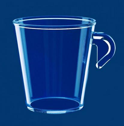 Espresso cup 0,2l SAN stackable, clear