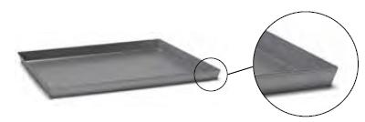 3045 Aluminized steel baking sheet