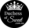 Duchess of Sweets Circle Label 30mm_FA_n