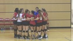 Girls Huddle 9-16-17