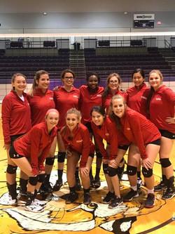 Lady Cardinal HS Volleyball Team
