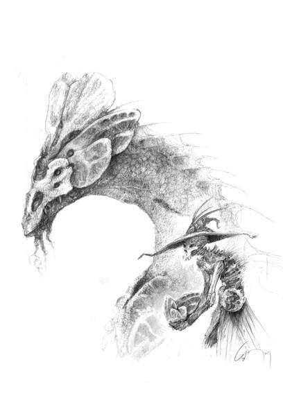 Necromancer Dragon