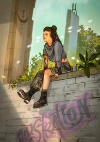 Self Portrait - Lofi