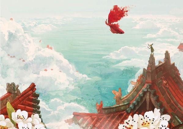 Asleep Background illustration 02
