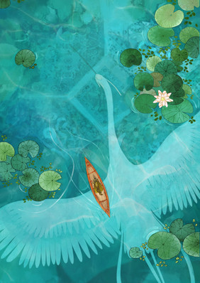 Asleep Background Illustration 04