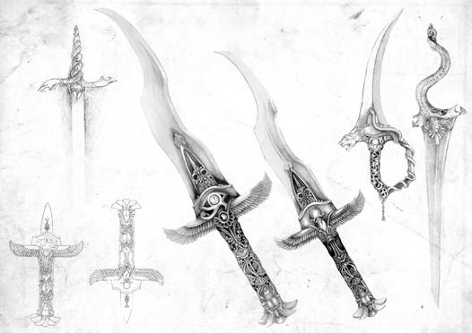 Egyptian Dagger, Concept design