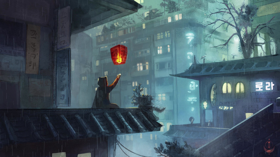 Lofi Rooftop animate