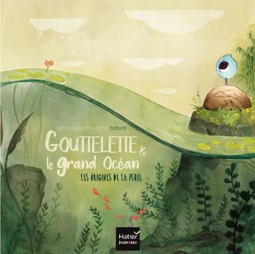 """""""Gouttelette"""" Child book Cover"""