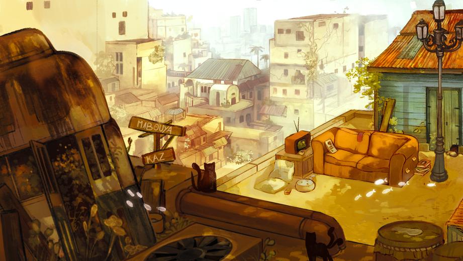 Lofi - Mazürka Background Illustration