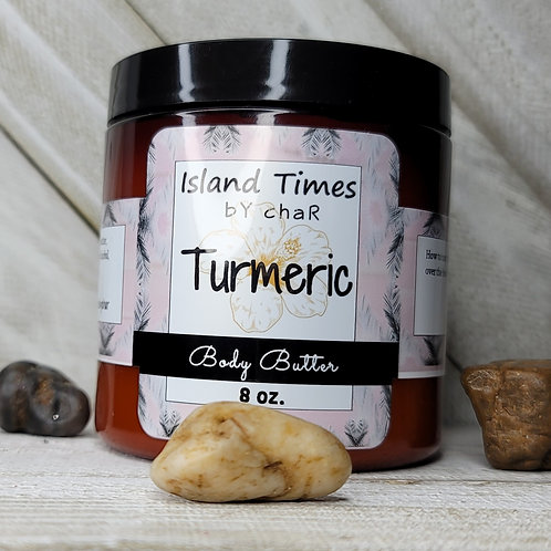 Turmeric Body Butter 8 oz.
