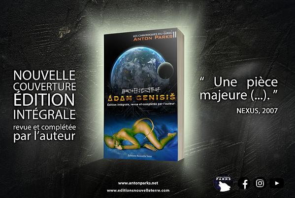 adam genisis V2 - COM - RESEAUX SOCIAUX