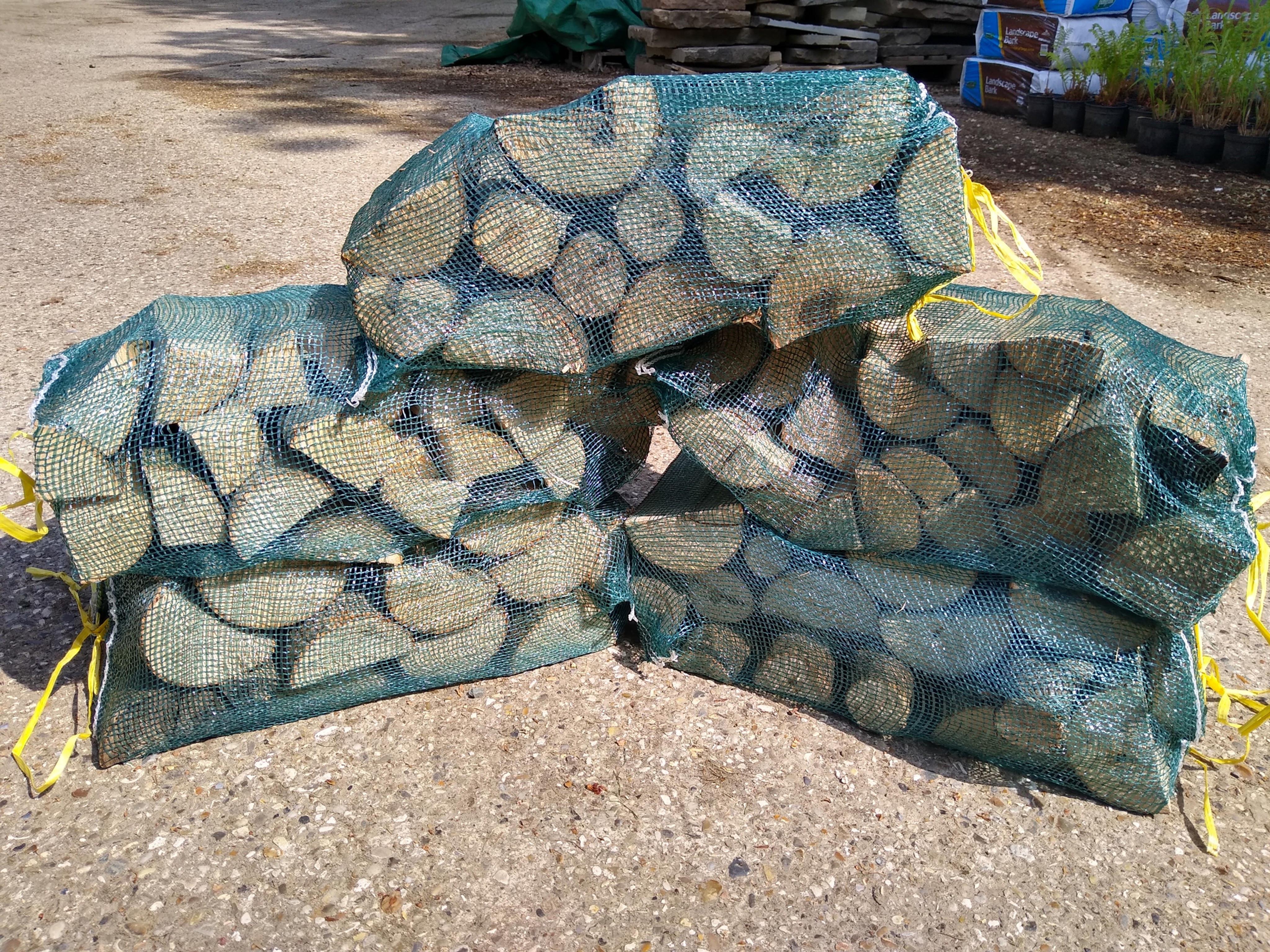 15 Net Sacks of Logs Delivered