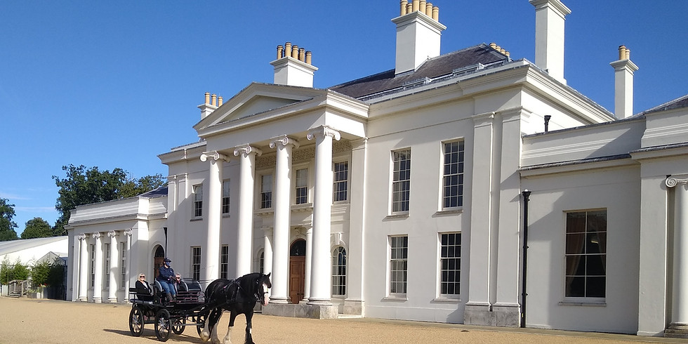 2pm Carriage Tour of Hylands Estate 17th October 2021