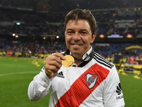 Gallardo cumple 100 partidos internacionales como DT de River: la gloria y los porrazos