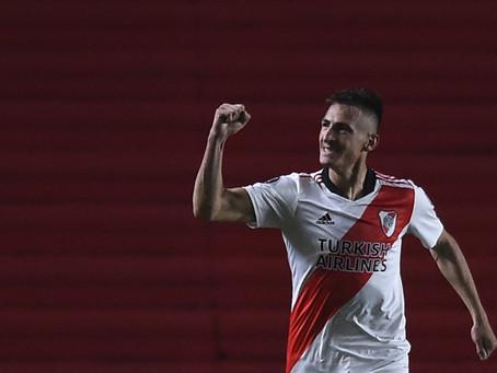 Los goles de Braian Romero, una de las principales esperanzas de River para el Superclásico