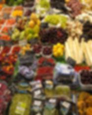 水果和蔬菜市場