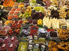 Fruits et légumes du marché