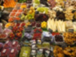 Frutas y hortalizas del Mercado