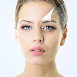 anti-aging concept, portrait of beautifu