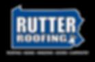 New Rutter Logo white letters black back