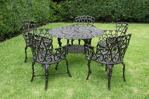 Muebles para jardín (mesa y 4 sillas)