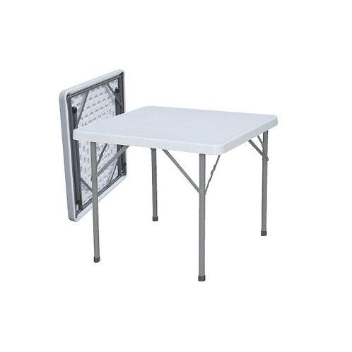 Mesa plegable cuadrada 90x90