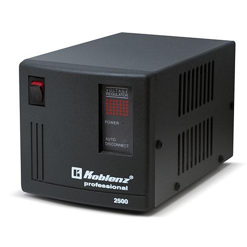 Regulador de voltaje con soporte para batería