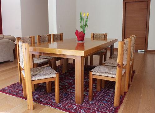 Mesa para comedor 110 x 220 cm.