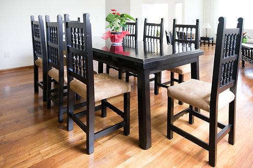 Mesa para antecomedor 80 x 160 cm