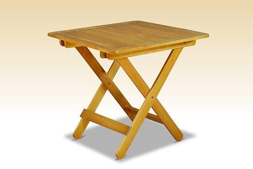 Mesa auxiliar plegable (de madera)