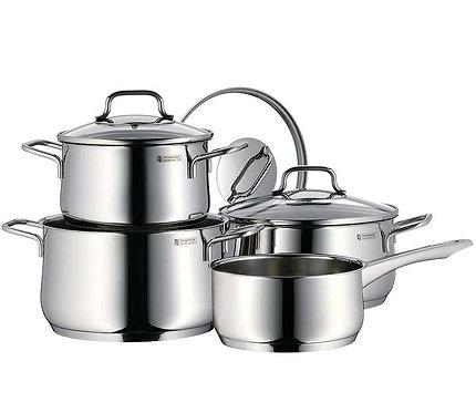 Batería de cocina acero inoxidable y utensilios