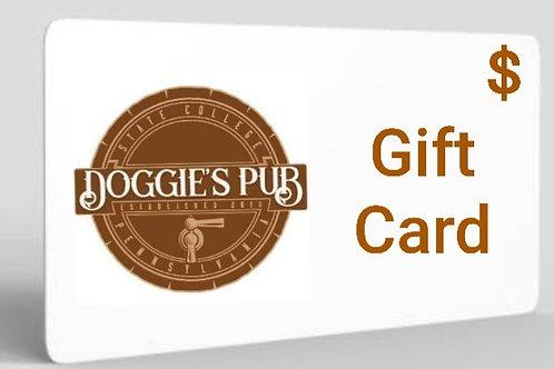 Doggie's Pub Gift Card
