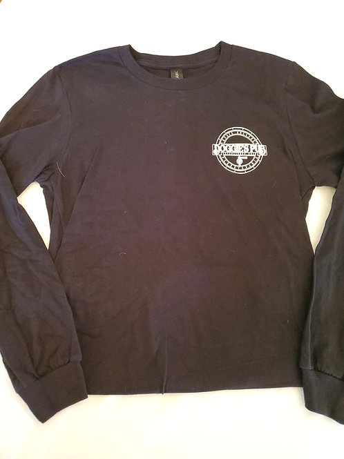 Black Long-sleeve Crewneck