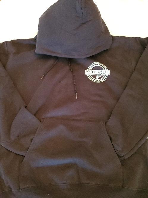 Black Long-sleeve Hoodie Sweatshirt