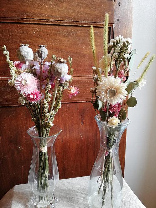 Duo mini bouquets Romance