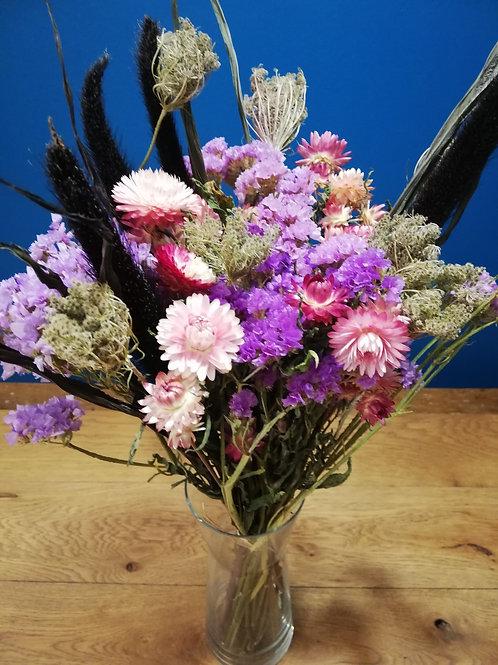 Bouquet violet S,M ou L                        à partir de