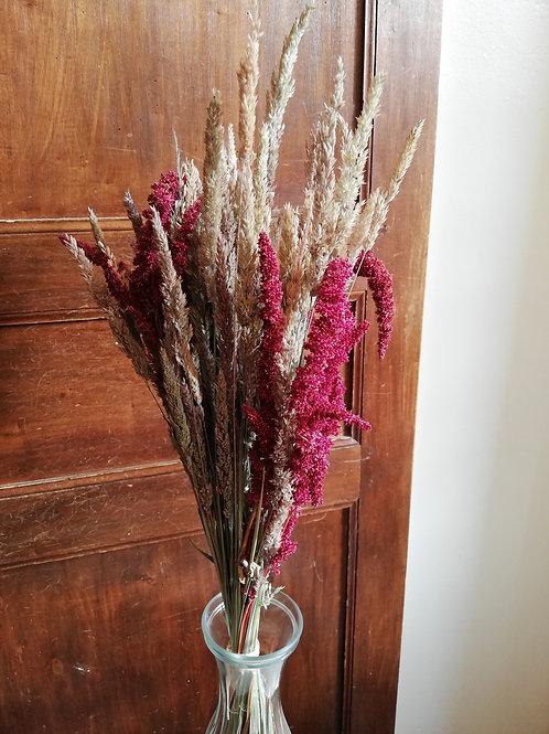 Bouquet de graminées feu