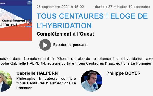 "Podcast RadioImmo: ""Pour Gabrielle Halpern, tout s'hybride""!"