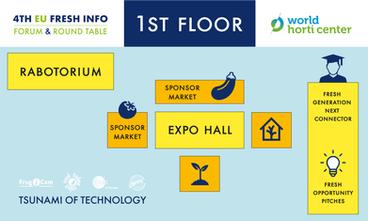1st Floor  World Horti Center