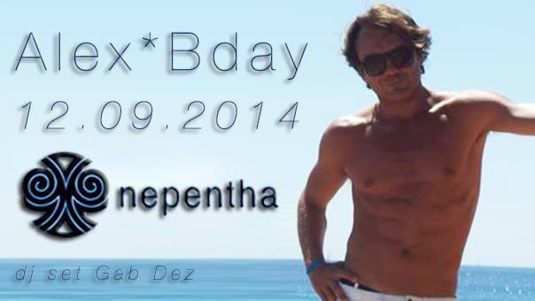 Nepentha opening party & alex bday
