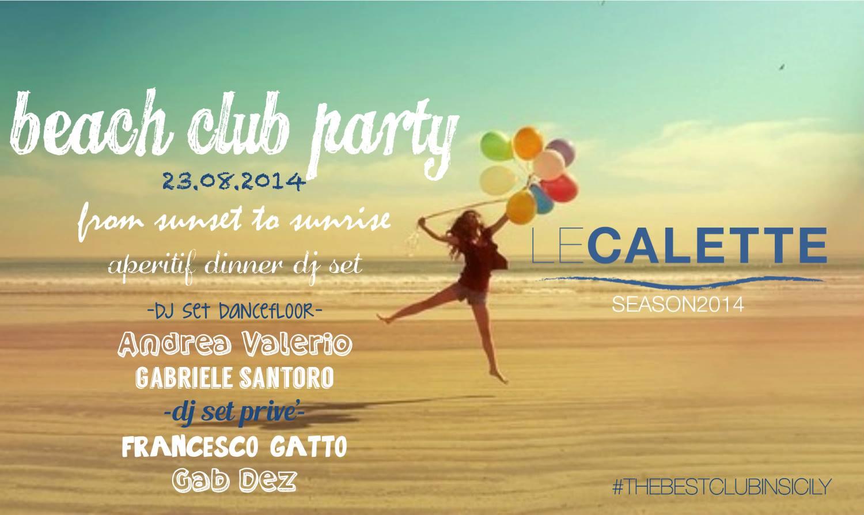 Calette Beach Club Party