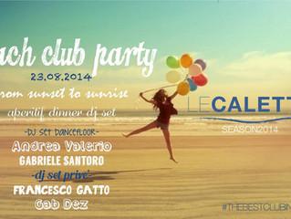 Le Calette | Beach Club Party