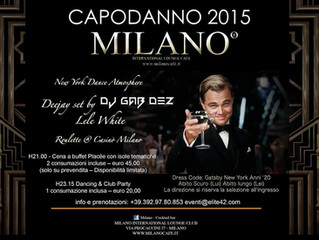 New Year's Eve in Milan