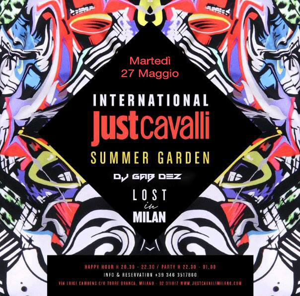 Just Cavalli 27.05.14